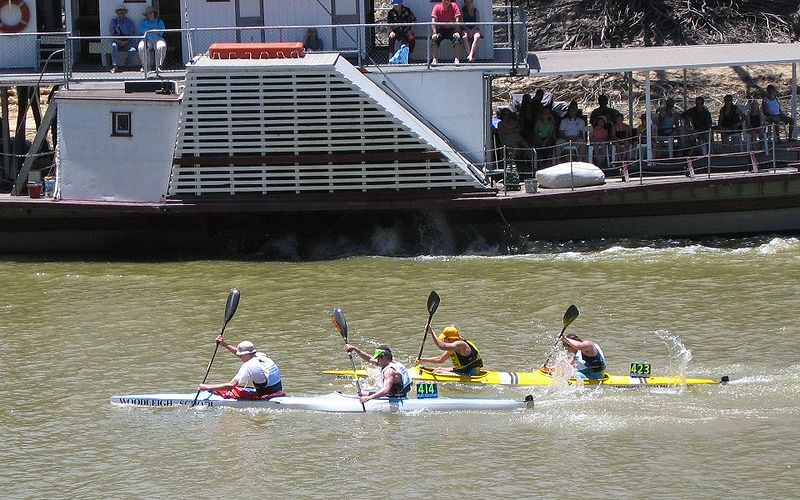 Kayak Race Photo