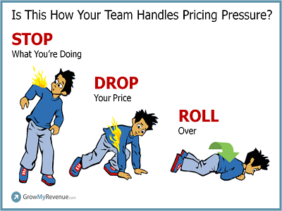 Pricing Pressure is More Common Than Catching Fire
