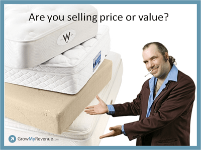 Sales Lessons from Holiday Mattress Shopping