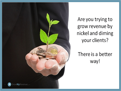 Grow Revenue by Delivering Value