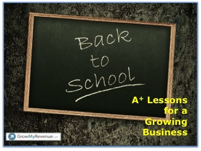 Back To School Lessons