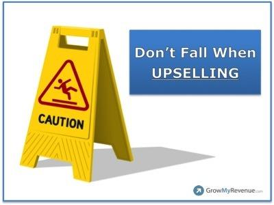 Avoid Upselling
