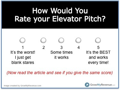 great elevator pitch