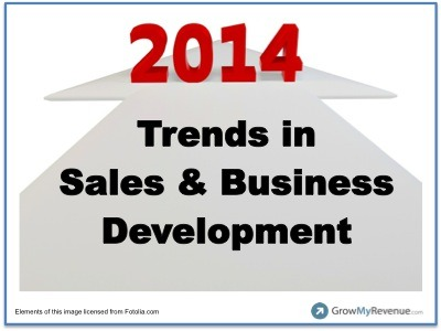 10 Trends in Sales and Business Development for 2014