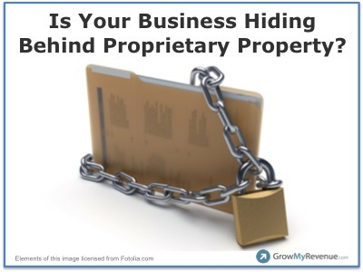 Why Proprietary Does Not Provide a Long Term Business Advantage