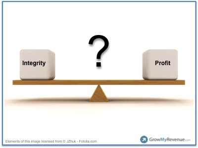 You Messed Up – Do You Pick Integrity or Profit for Your Business