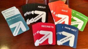 Same Side Improv Cards Fanned